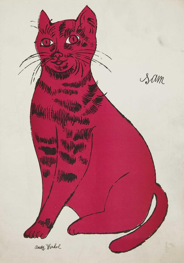 Andy Warhol, Fuchsia Sam