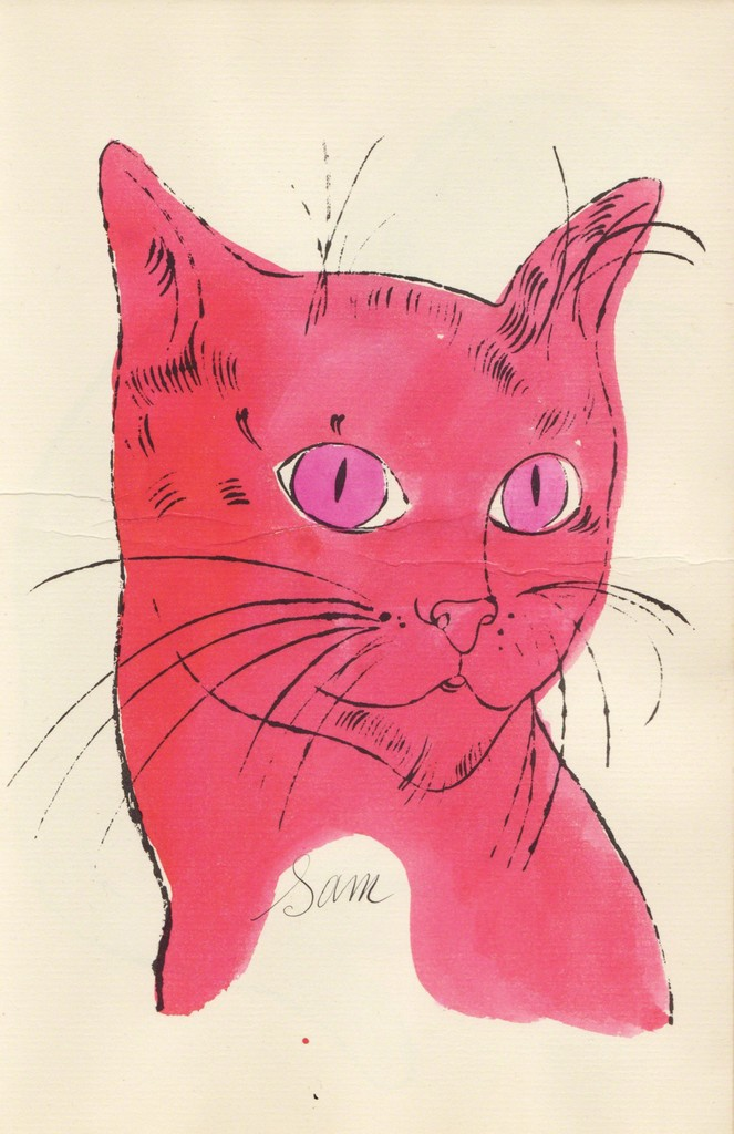 Andy Warhol, Pink Sam's Head