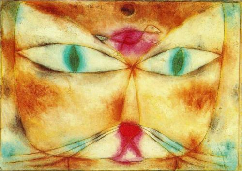 Paul Klee (1879-1940) Cat and Bird