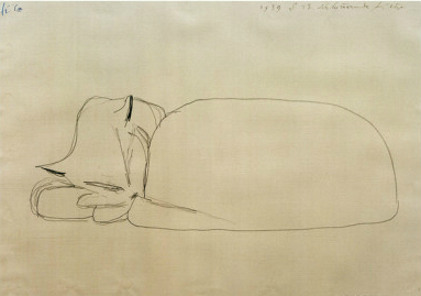 Sleeping Cat, Paul Klee