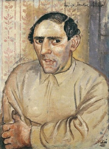 Portrait of Jankel Adler by Otto Dix
