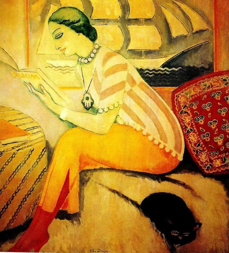 The reader - Kees van Dongen