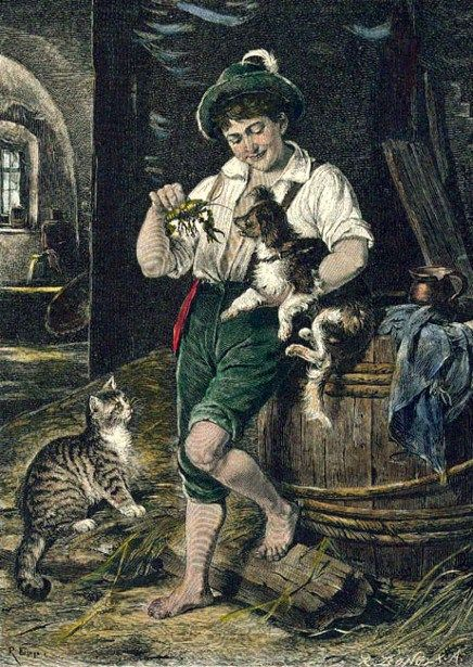 Rudolf Epp, In the Barn