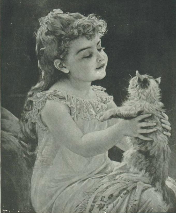 Rudolf Epp, Kiss Me Quick cats in art