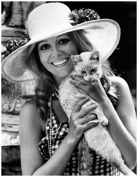 Ombretta Colli with her cat Angelo, Elliott Erwitt