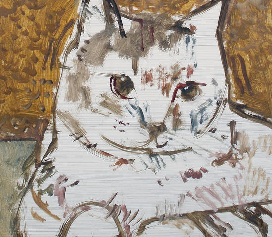 Ruskin Spear, Seated Cat
