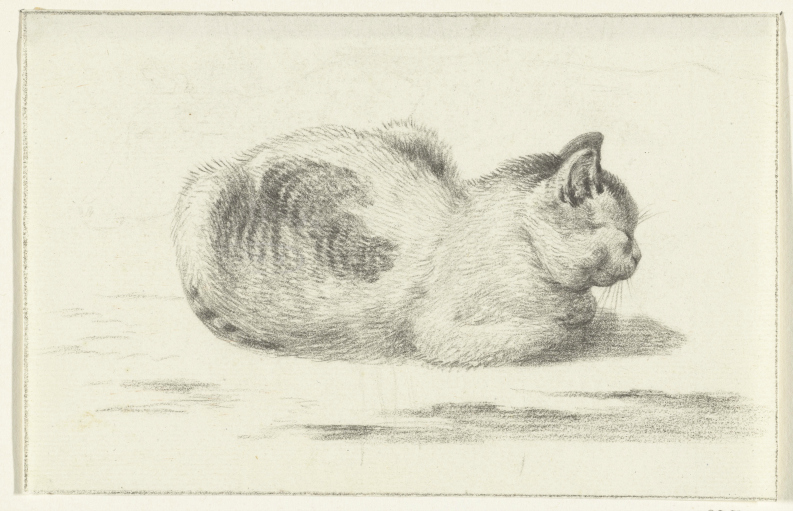 Seated Cat, Jean Bernard
