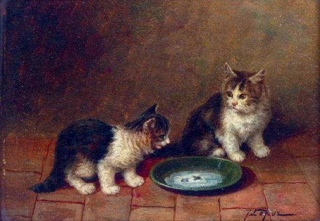 Jules Gustave Le Roy, An Unexpected Guest