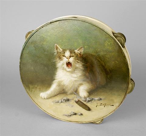 Jules Gustave Le Roy, Burned CAt