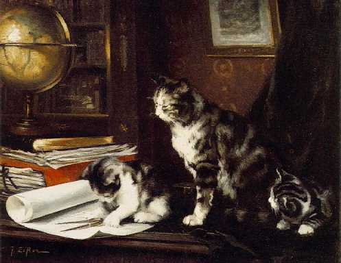 Jules Le Roy, In the Study