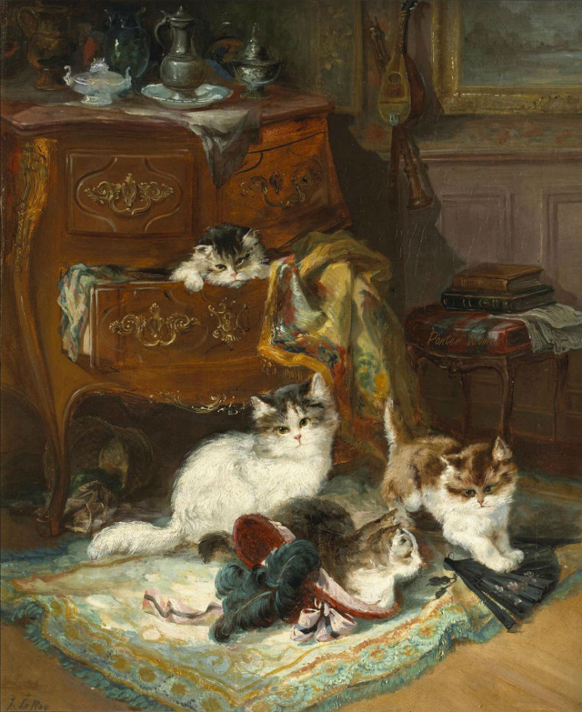 Jules Gustave Le Roy, Making Mischief