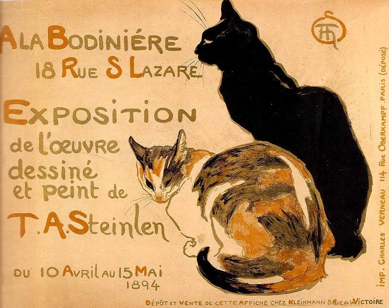 1894 Theophile Steinlen cat poster