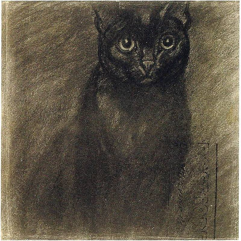 Black Cat, Theophile Steinlen