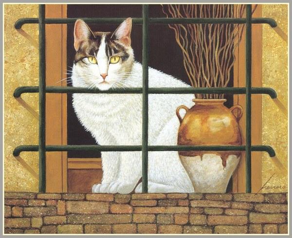 Cat Lowell Herrero, In the Window