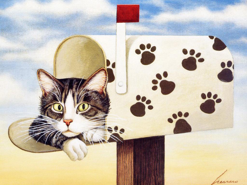 Mail Cat, Lowell Herrero
