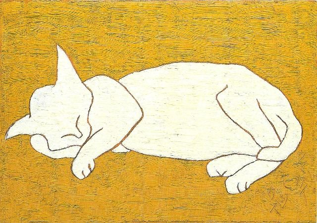 Morikazu Kumagai, Sleeping White Cat