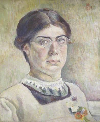 Orovida Camille Pissarro, self portrait