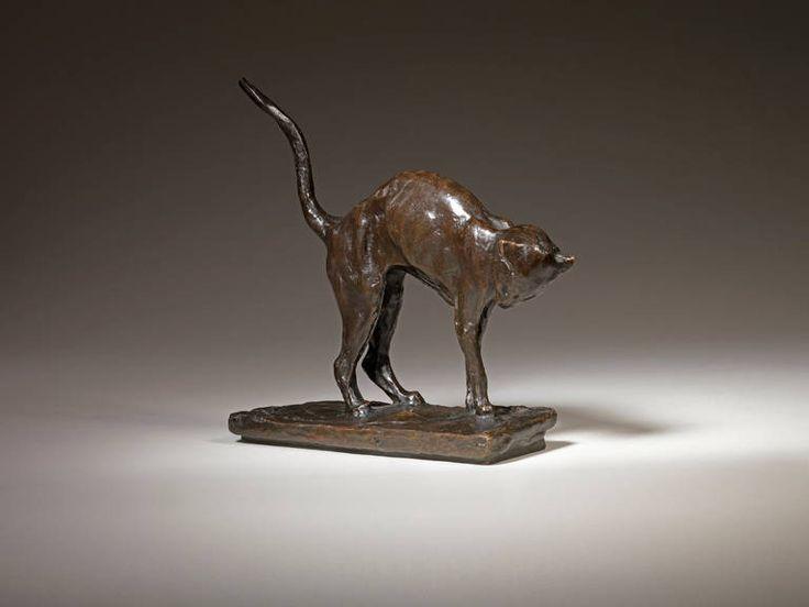 Standing Cat Statue, Theopile Steinlen