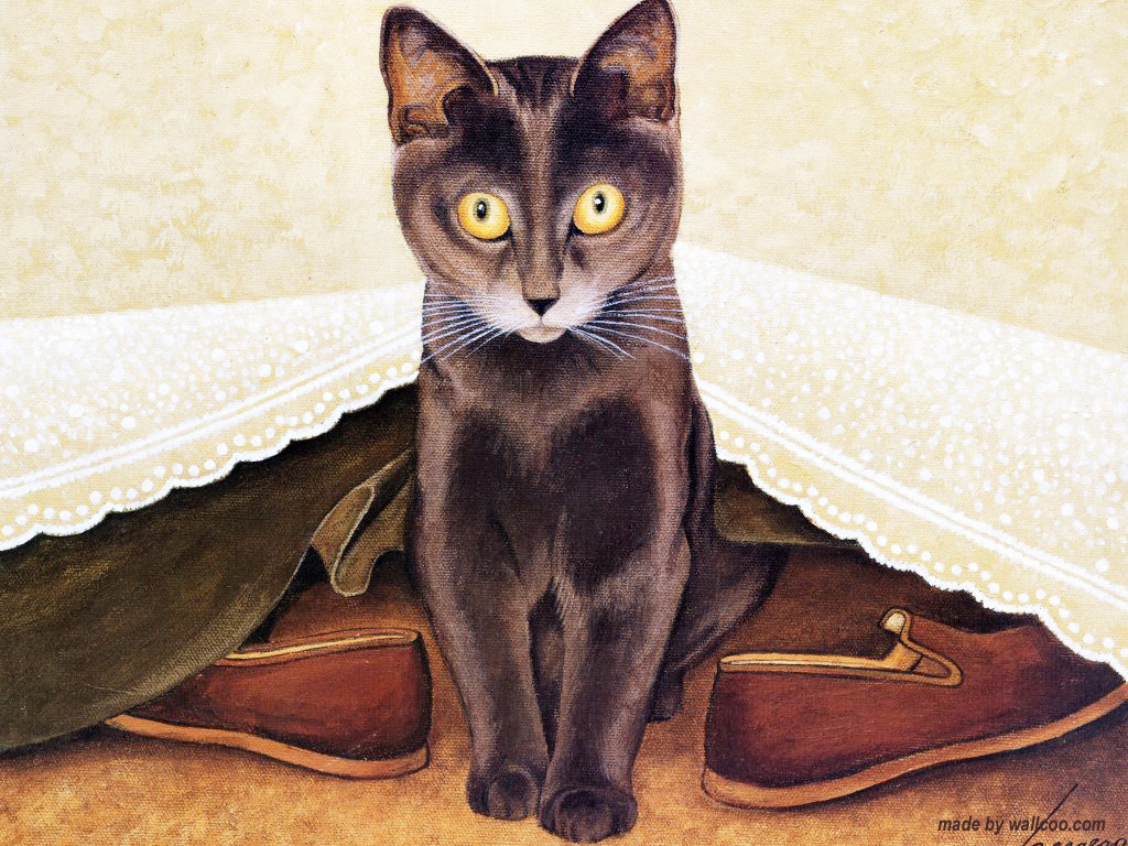 Cat Under the Bed, Lowell Herrero