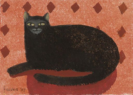Black Cat2, Mary Fedden