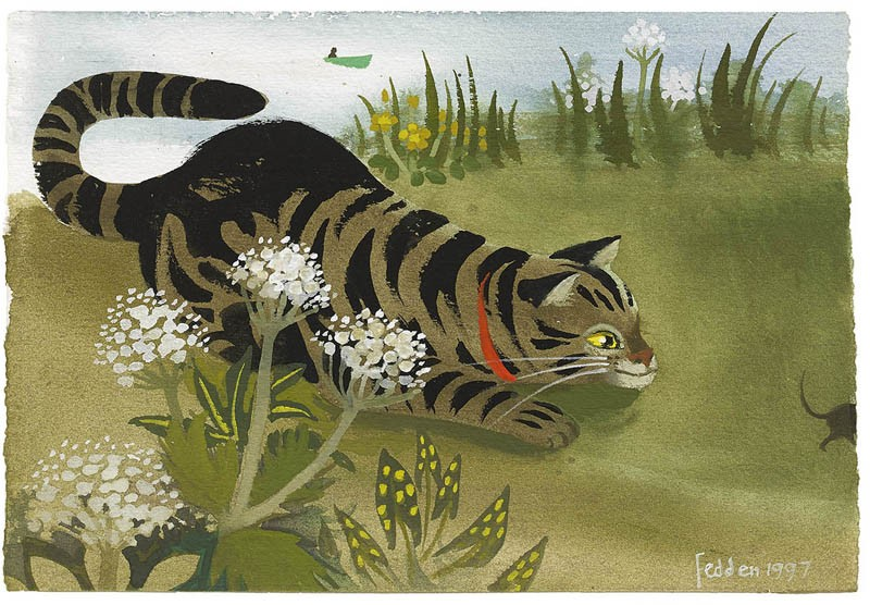 Motely Cat, Mary Fedden