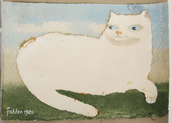 White Cat, Mary Fedden