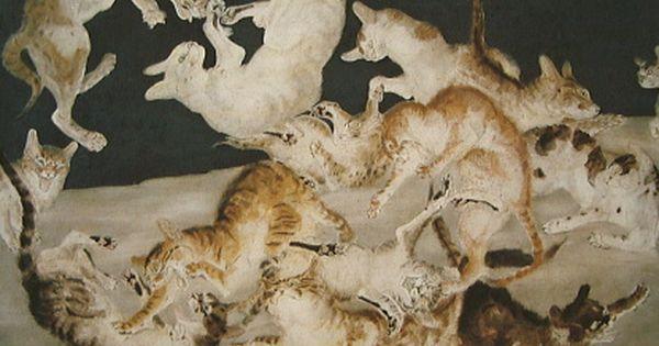Clowder of Cat, Leonard Foujita