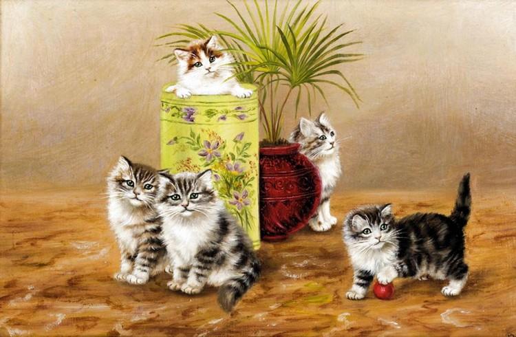 Five Kittens, Bessie Bamber