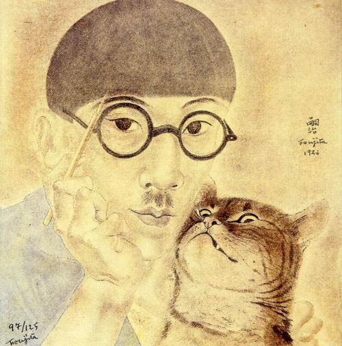 Foujita Self Portrait 1926