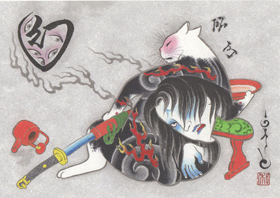 Kazuaki Horitomo Kitamura, Monmon Cats 17