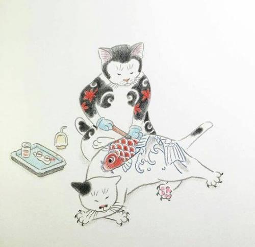 Kazuaki Horitomo Kitamura, Monmon Cats 33