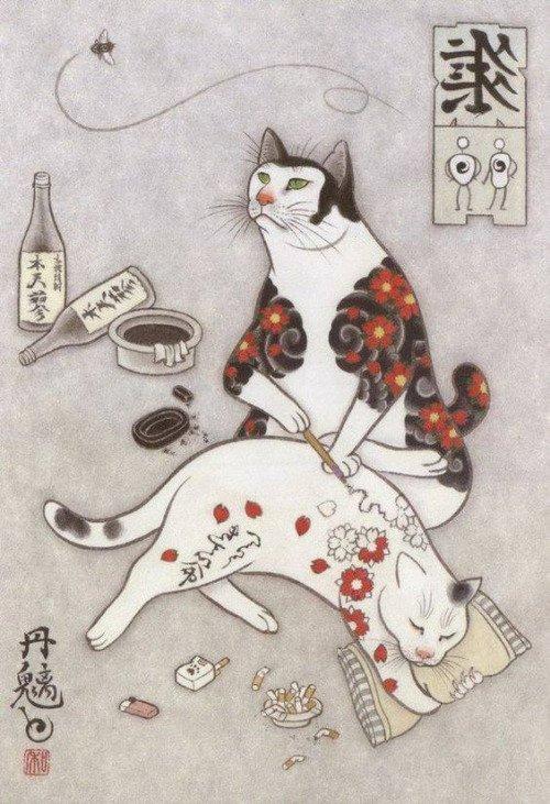 Kazuaki Horitomo Kitamura, Monmon Cats 34