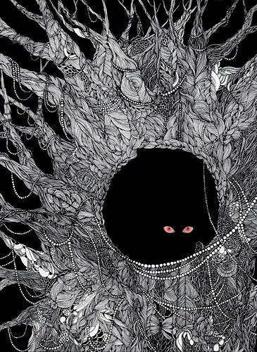 Midori Yamada34-Black cat