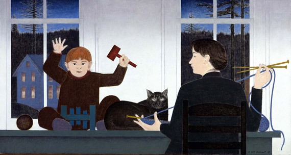 Will Barnet The Blue Thread