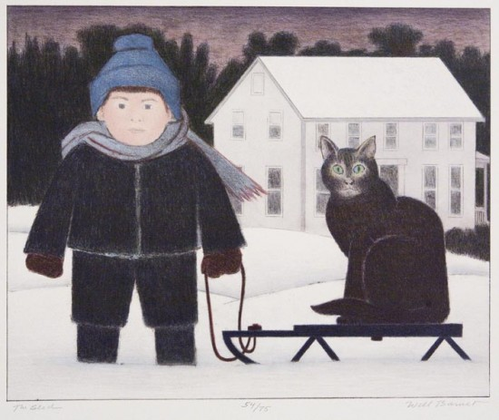 Will Barnet, The Sled