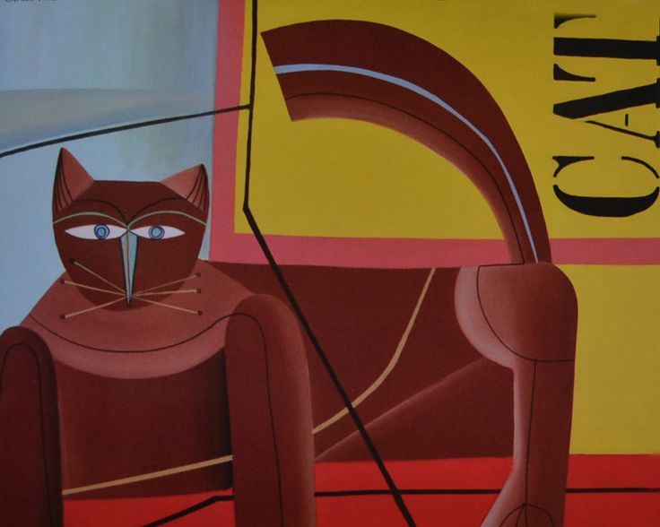 Carlos Paez Vilaro, Cat