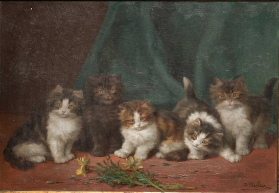 Daniel Merlin, Five Kittens