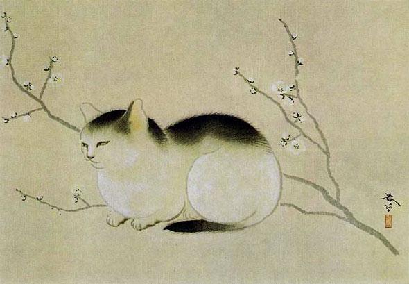 Cat, Hishida Shunso