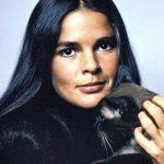 Ali McGraw and cats