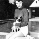 Ava Gardner and cat, famous cat lovers