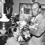 Buster and Eleanor Keaton and their cat