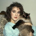Celine Dion and cat, famous cat lovers