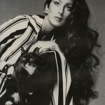 Cher and cat, famous cat lovers