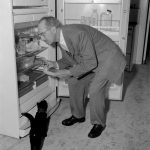 Groucho Marx and cat