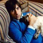 Jason Schwartzman and cat