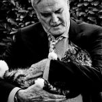 John Cleese and cat, famous cat lovers