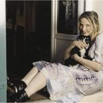 Julie Delpy and cat, famous cat lovers
