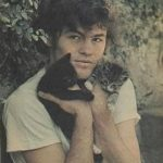 Mickey Dolenz and kittens, famous cat lovers
