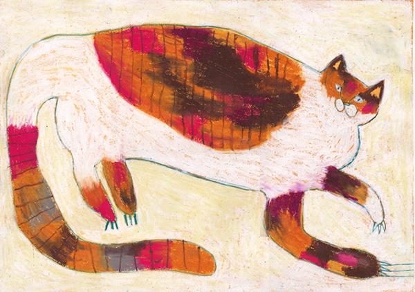 Miroco Machiko, Orange and White cat