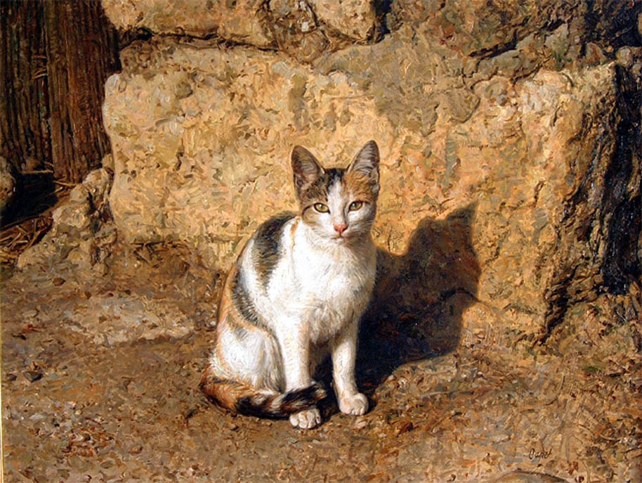 Antonio Guzman Capel-3, cats in art